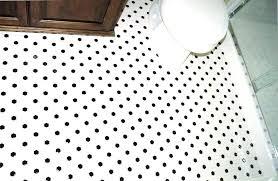 Hex Tile Floor Black And White Hexagon Tile Bathroom Popular Black