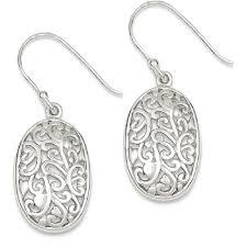 icecarats 925 sterling silver filigree drop dangle chandelier earrings earrings best canada