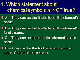 Copyright Richards 2009 Elements and the Periodic Table Quiz One ...