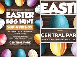 easter egg hunt template easter egg hunt flyer template flyerheroes