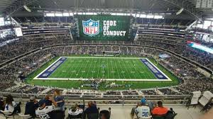 At T Stadium Section 412 Home Of Dallas Cowboys