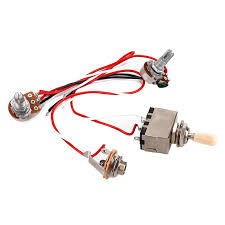 online get cheap wiring harness guitar aliexpress com alibaba group Wiring Harness Guitar guitar wiring harness 3way toggle switch 1v1t1j 500k pots for lp guitar dual humbucker replacement( wiring harness guitar gibson es-137
