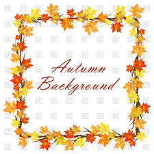 maple autumn frame vector image vector ilration of borders and frames angelp 110264 to zoom