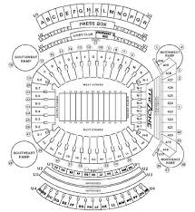 Alabama Seating Chart Bryant Denny Bryant Denny Stadium Seating Chart