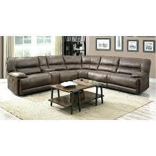 simon li leather sectional costco austin abbyson couch brown cognac 6 piece power home improvement