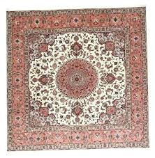 x 9x9 square rug area