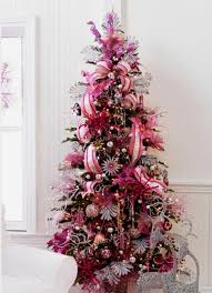 christmas trees decorated pink. Exellent Trees Cute Beautiful Pink Christmas Tree Decorating Ideas Home With Trees Decorated M