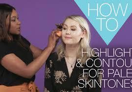thumbnail contour pale skin