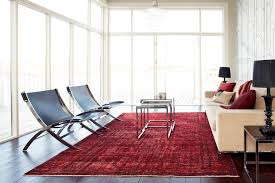 red rug modern living room contemporary living room antique rug persian rug