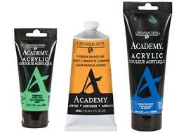 Academy Acrylic Grumbacher Art