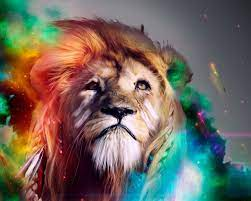 1280x1024 Lion Abstract 4k 1280x1024 ...