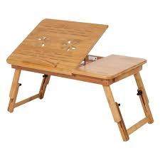 lap table for bed adjustable bamboo rack shelf dormitory desk portable reading diy lap table for bed desk diy