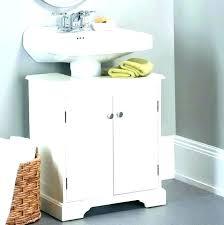 bathroom pedestal sink storage. Delighful Bathroom Fascinating Under Bathroom Sink Shelf Pedestal Organizer Storage For  Intended Bathroom Pedestal Sink Storage