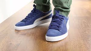 puma shoes suede on feet. puma shoes suede on feet