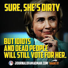 Meme Shows Exactly Who You Can Expect To Vote For Hillary   The ... via Relatably.com