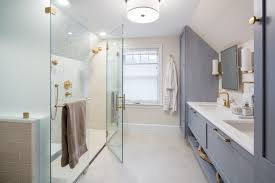 linear drains curbless showers
