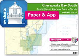 Nv Charts Reg 5 2 Chesapeake Bay South Tangier Sound Delmarva Coast To Norfolk