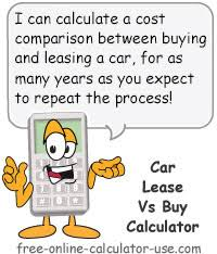 Lease Vs Buying Car Car Lease Vs Buy Calculator With Lifetime Cost Analysis