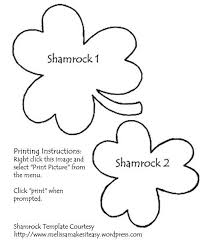St. Partrick's Day Shamrock Pins | Shamrock Template, Template And Craft