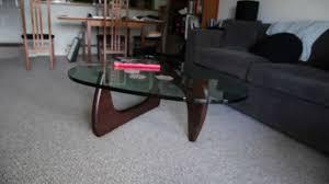 Noguchi Coffee Table Base Noguchi Coffee Table By Herman Miller Youtube