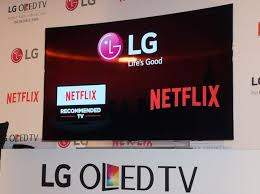 lg oled tv logo. lg electronics celebrated its status as one of the first tv brands to offer smart tvs carrying new netflix recommended logo by bringing lg oled tv