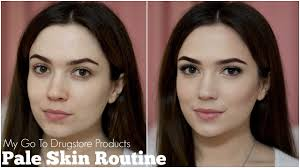 what s the best contour makeup for pale skin