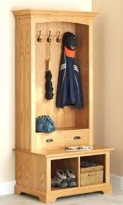 Front Door Coat Rack Coat Rack Bench With Storage Image Of Small Coat Rack Bench Entryway 57