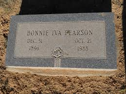 Bonnie Iva Bowman Pearson (1896-1988) - Find A Grave Memorial