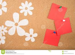 Memo Card Template Sticky Note Memo On Board Stock Illustration Illustration Of