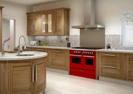 Kitchen With Red Appliances Cheap Modern Kitchen Design Inspiration Headlining High Gloss Red