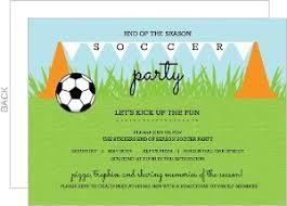 Soccer Party Invitations Custom Soccer Party Invitations
