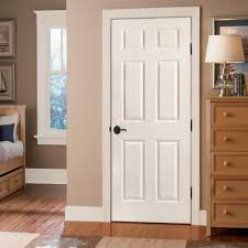 exciting shing white door home depot interior doors with 6 panel and brown cabinet with 5