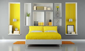 Kuehne Yellow Was Added The Bedroom Completely Customize   12 Cozy Interiors