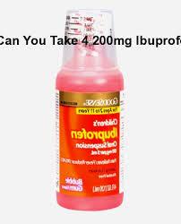 Ibuprofen 200 Mg Dosage Chart Can You Take 4 200mg Ibuprofen Can You Take 4 200mg