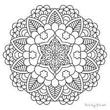 Free Mandala Coloring Pages For Kids Free Printable Mandalas