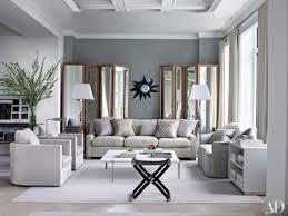 a gray living room designed by shelton mindel ociates