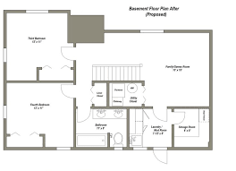 Unique Basement Layout Plans Finished Floor Modern Ideas 40 Inspiration Ideas For Finishing A Basement Plans