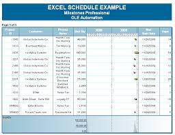excel for scheduling project management software automation interface microsoft