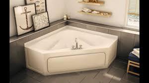 ... Bathtubs Idea, Small Corner Bathtubs Corner Tub Shower Combo Bathroom Corner  Bathtubs For Small Bathrooms ...