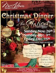 christmas dinner poster christmas dinner poster v3 lr 2017 mcadam station