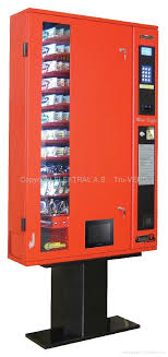 Small Vending Machines For The Home Mesmerizing Slim Line Small Location Vending Machine MiniBuffet ELEKTRAL