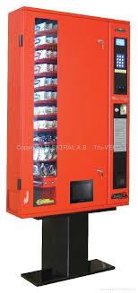 Small Vending Machines For Home Beauteous Slim Line Small Location Vending Machine MiniBuffet ELEKTRAL