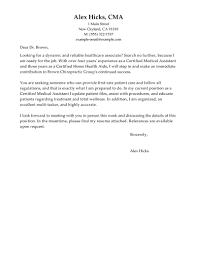 Cover Letter Example Experience Resumes