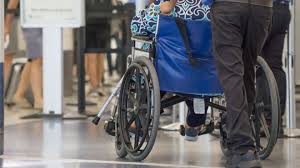 that person whizzing past you in a wheelchair at the airport there s a chance they re perfectly ok and just need an excuse to get through security faster
