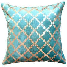 teal and gold pillows. Plain Pillows In Teal And Gold Pillows Raun Harman