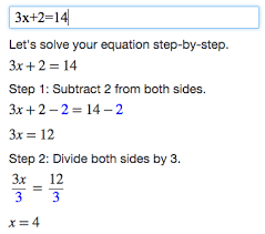 algebra calculator mathpapa for example enter 3x 2 14 into the text box to get a step by step explanation of how to solve 3x 2 14