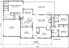 Perfect Plan 4978K: Ranch With Split Bedroom Design