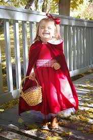 diy little red riding hood costume cloak 2t 4t