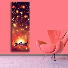 2018 modern wall art led canvas prints two people on the boat led canvas paintings stretched bedroom wall arts for home decor from happyfamilyalike  on wall art prints for bedroom with 2018 modern wall art led canvas prints two people on the boat led
