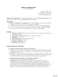Download Resume Software Resume Database Testing Resume Software Testers A Com Form Download